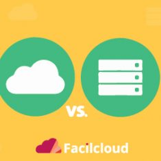 on premise vs cloud hosted