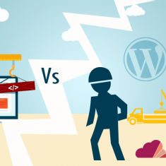 construtor de sitios web vs wordpress
