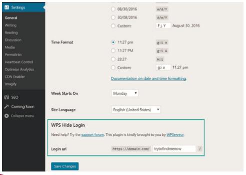 bloquear wordpress admin